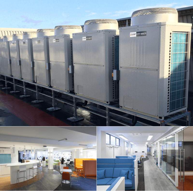The benefits of VRF & VRV air conditioning systems